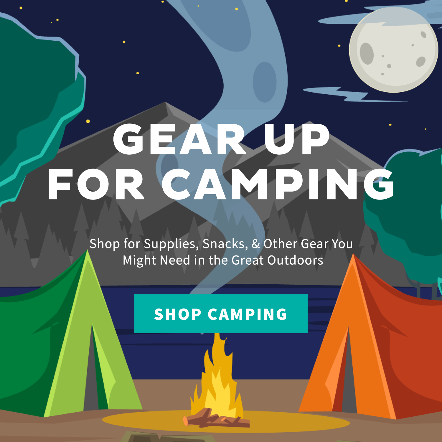 Gear Up for Camping